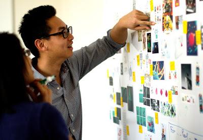designers storyboarding